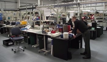 JAVELIN Jobshop LCL Electronics Assembly plant